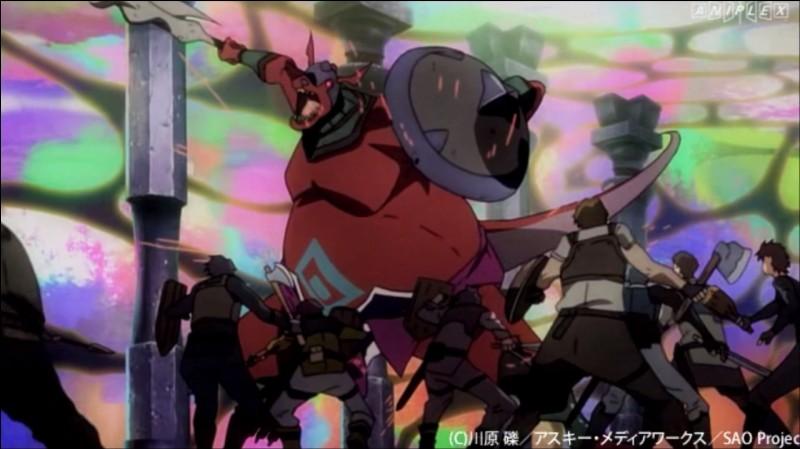 Quelle est l'arme qu'utilise le Seigneur Kobold quand sa barre de vie passe au rouge ?