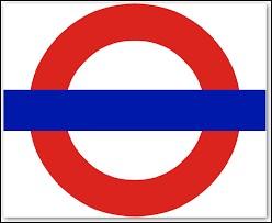 Quel mot anglais figure sur le logo du métro de Londres ?
