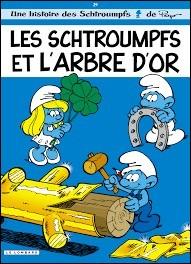 À l'origine, on pouvait lire les aventures des Schtroumpfs dans une autre BD. Laquelle ?