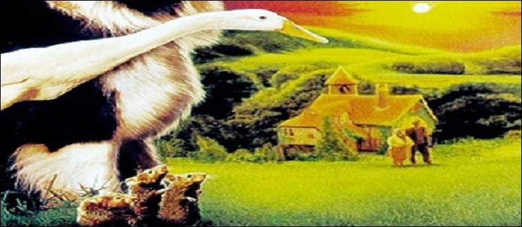 Quel animal, dont le sens de la survie est particulièrement aiguisé, devient berger dans un film de 1996 ?