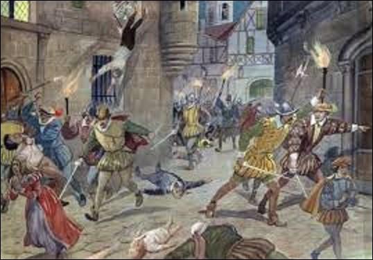 """Quel roi de France (1550-1574) a tenu ces propos le jour de la nuit de la Saint-Barthélémy, le 24 août 1572 : """"Tuez-les, mais tuez-les tous pour qu'il n'en reste pas un pour me le reprocher"""" ?"""