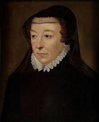 """Suite à ce crime odieux et lâche sur le duc de Guise, sa mère (1519-1589) dit à son cher fils le roi de France (1551-1589), """"C'est bien taillé mon fils ; maintenant il faut coudre"""". Quelle grande femme du XVIe siècle, reine de France de 1547 à 1559, puis régente du royaume de 1560 à 1563, a tenu ces paroles ?"""