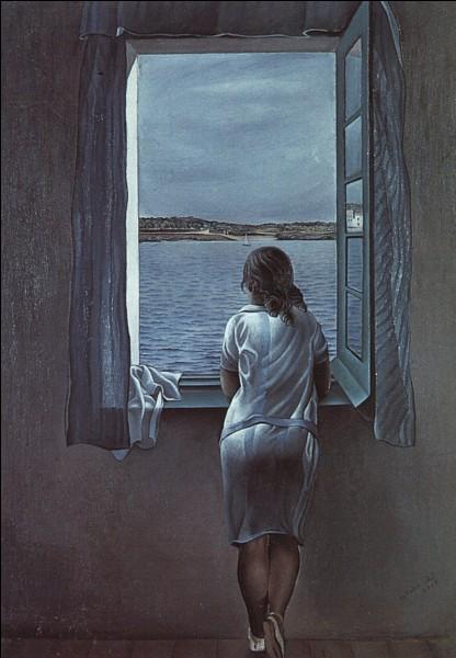 """C'est Dali qui a peint """"Anna à sa fenêtre"""" :"""