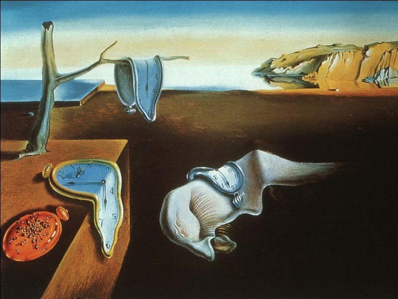 Persistance de la mémoire est une toile de Salvador Dali :