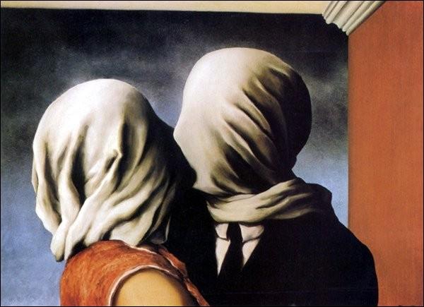 """Cette peinture, intitulée """"Les amants"""" est une oeuvre de Dali :"""