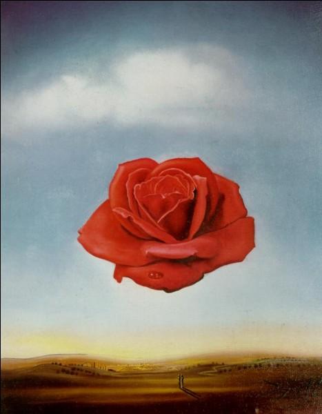 Ce tableau appartient à Dali, il s'agit de la rose volatile :