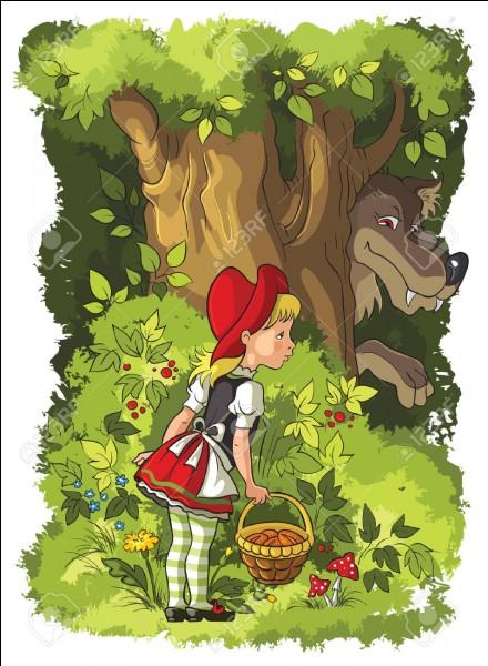 """Quel animal est le plus présent dans """"Le Petit Chaperon rouge"""" ?"""