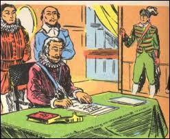 L'édit de Nantes a été signé en 1598.