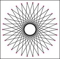 En mathématiques, comment appelle-t-on un polygone à 30 côtés ?
