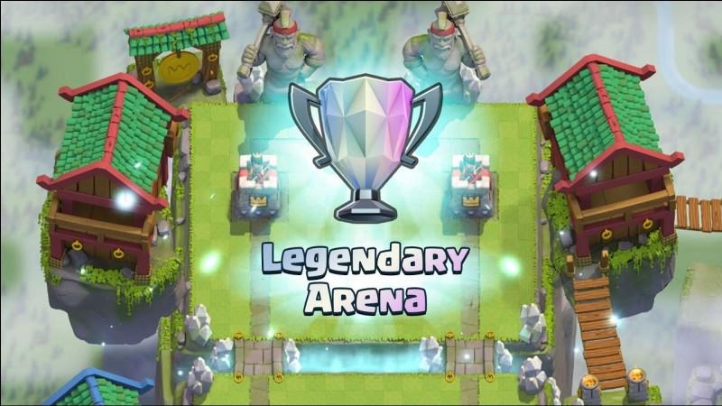 Après combien de trophées atteint-on l'arène légendaire ?