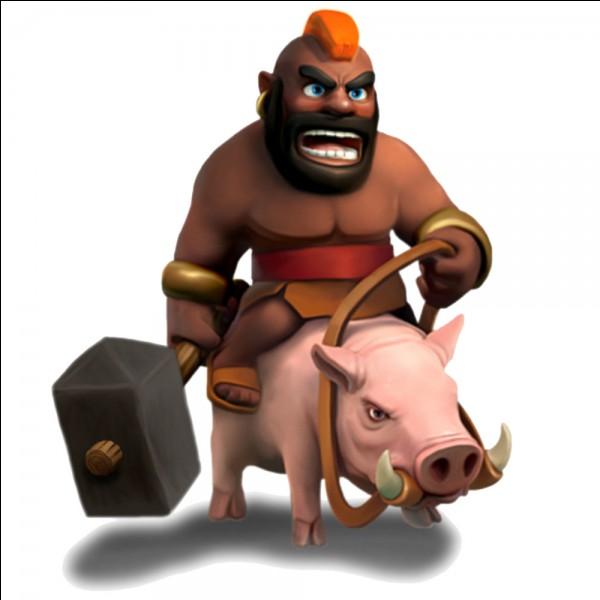 Le Chevaucheur de cochon est une carte :