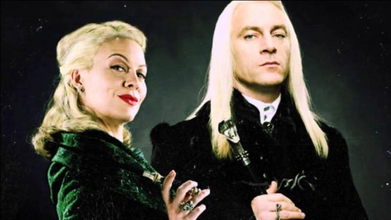 Dans quel livre Lucius Malefoy rencontre-t-il Harry, Hermione et les Weasley chez Fleury et Bott ?