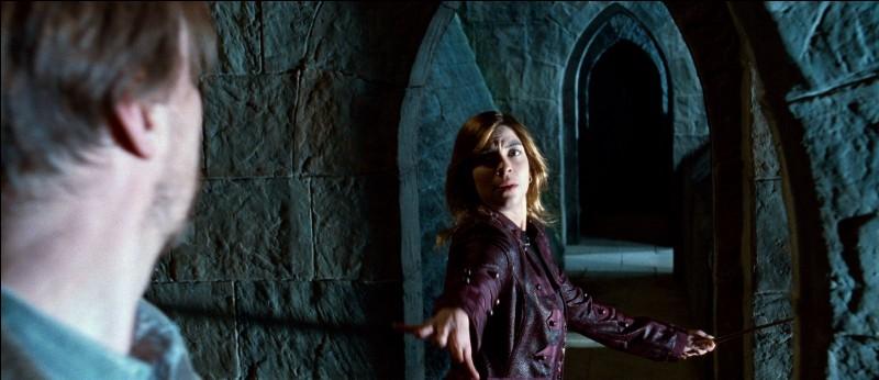 Comment Remus et Nymphadora sont-ils installés sur leur brancards ?