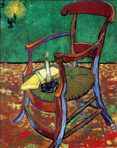 C'est van Gogh qui a représenté le fauteuil de son meilleur ami Paul Cézanne :