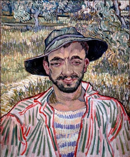 Ceci est un autoportrait de van Gogh :