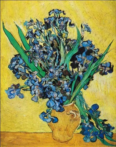 """Cette toile est """"Le vase de glaïeuls"""" de van Gogh :"""
