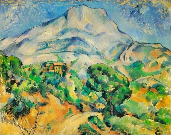 """Ce tableau représente """"La colline à Saint-Rémy"""" de van Gogh :"""