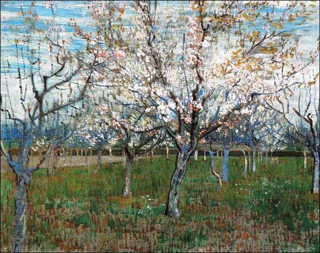Le verger rose est une toile de van Gogh :