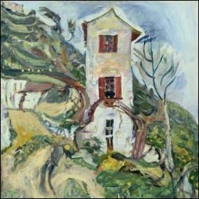 """Ce tableau est """"La maison jaune de van Gogh"""" :"""