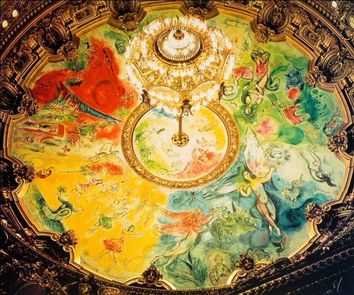Les décorations de la coupole de Santa-Maria del Fiore à Florence, sont de Marc Chagall.