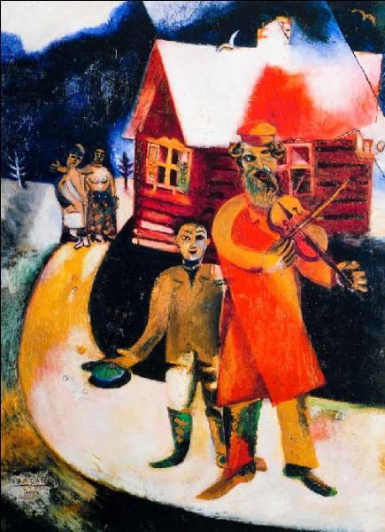Le violoniste est une toile de Marc Chagall :
