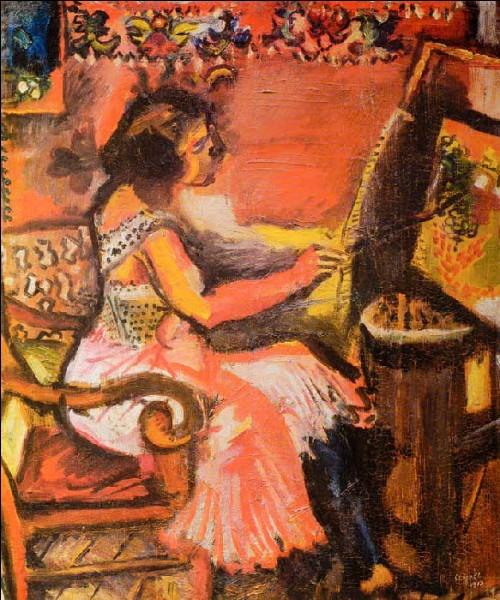 Ce tableau est une oeuvre de Chagall :