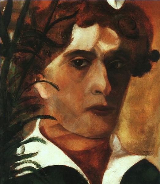 Ceci est un autoportrait de Chagall :