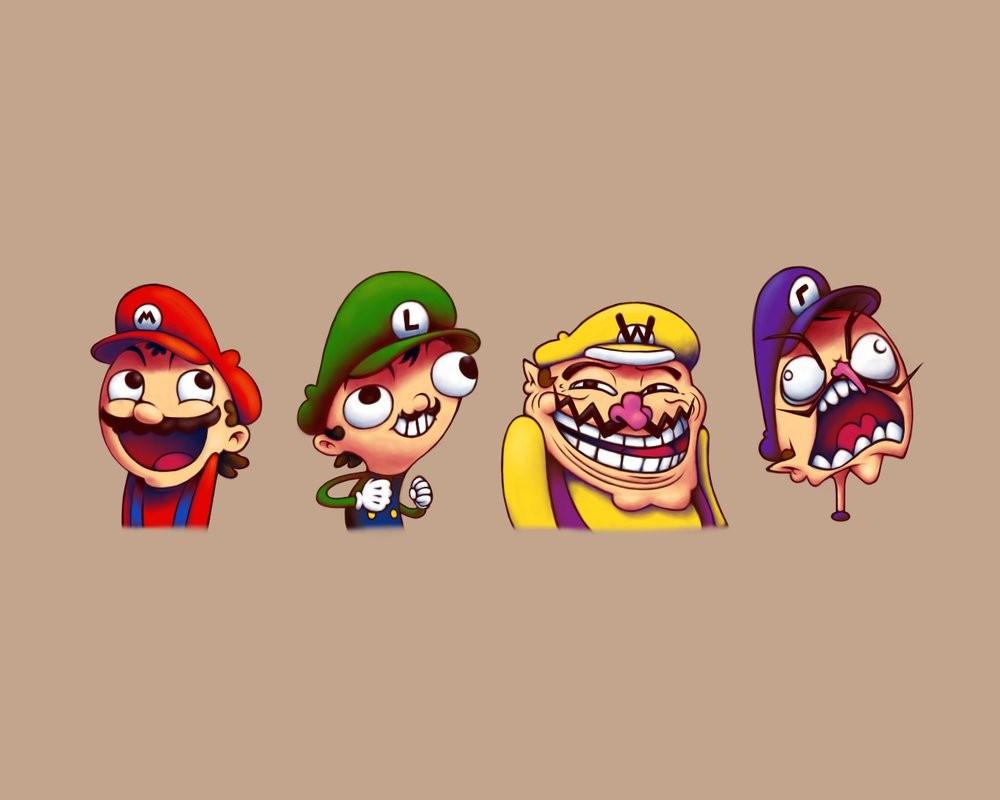 Test sur Super Mario