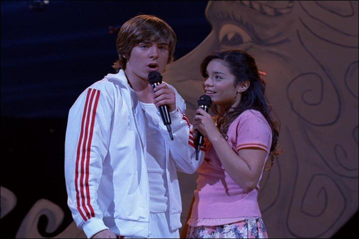 Que chante Troy et Gabriella?