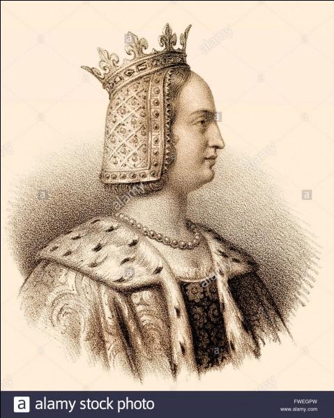 Cette héritière du comté apporte ses terres à son mari, le duc de Bourgogne Eudes IV ; qui est-elle ?