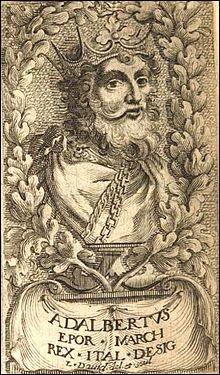 Quel fils du roi Adalbert d'Italie déchu et beau-fils du duc de Bourgogne Eudes-Henri hérite du comté de Besançon en 982 ?