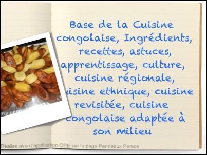 quizz cuisine rdcienne (congo) - quiz cuisine