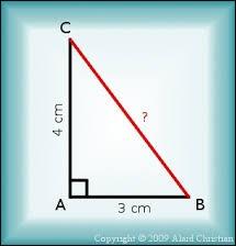Combien mesure l'hypoténuse ?