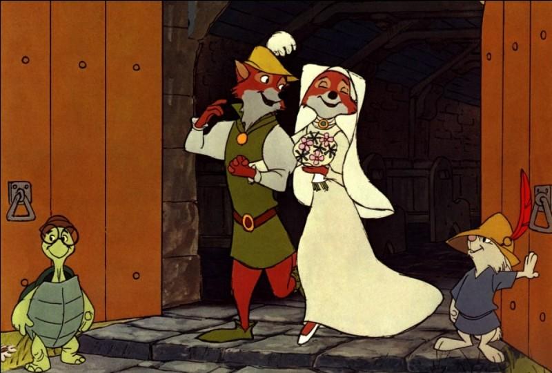 Dans Robin des Bois sa jeune fiancée s'appelle Marianne.