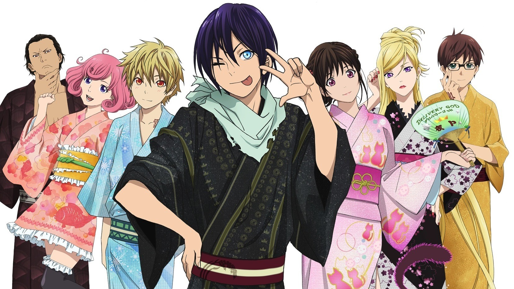 Noragami, les personnages