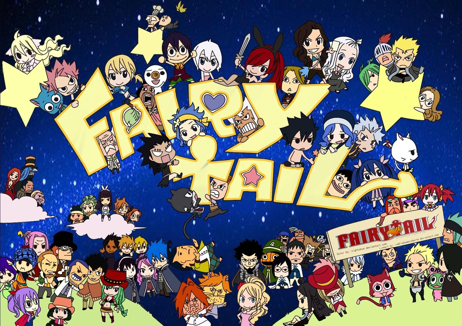 Fairy Tail : les chibis