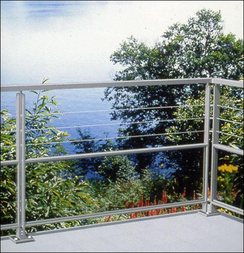 On ne dit pas ''un balcon'' mais: