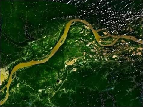 On ne dit pas ''c'est l'Amazone'' mais:
