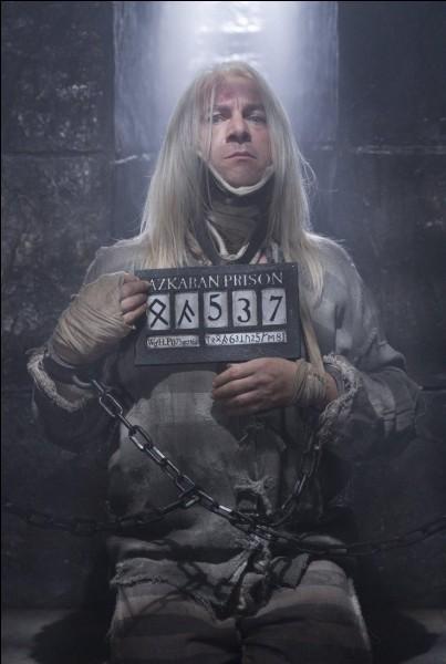 En quelle année Lucius est-il emprisonné à Azkaban ?