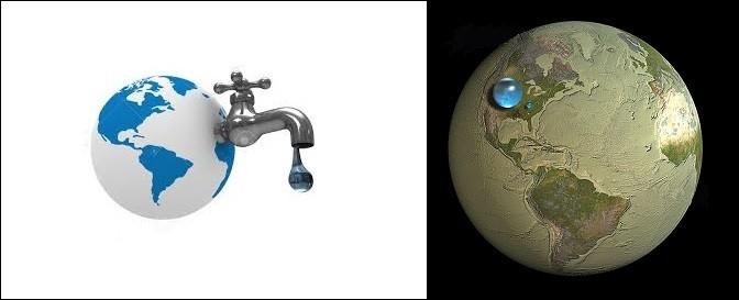Science - La quantité d'eau sur Terre ne varie pas !