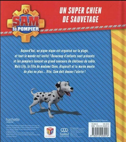 Comment s'appelle le chien de secours ?