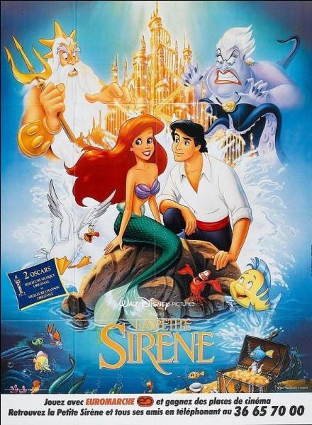 """La Petite Sirène - Sous l'océan-Complétez : """" Chez nous les poissons s'fendent la pipe Les vagues sont un vrai régal Là-haut, ils s'écaillent et ils ......."""""""