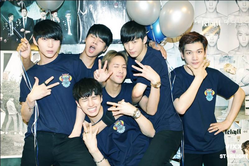 Ravi fait partie du groupe de K-pop :