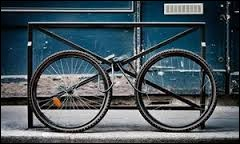 He stole my bike, ....... ?