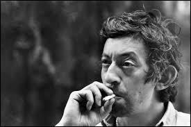 Laquelle de ces chansons Serge Gainsbourg a-t-il chantée ?