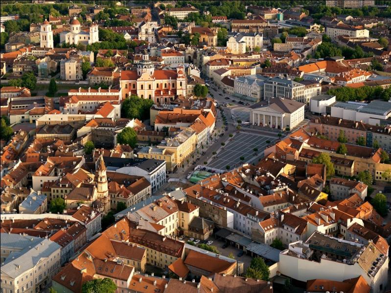 Autre capitale, Vilnius. Dans quel pays se trouve-t-elle ?