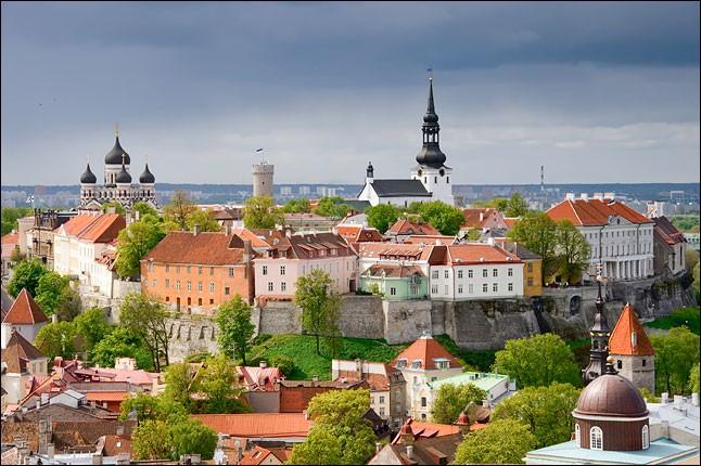 Et la troisième, Tallinn, est donc en :