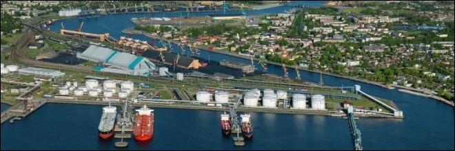 Ventspils est un autre grand port, surtout pour les hydrocarbures. Dans quel pays se trouve cette ville ?