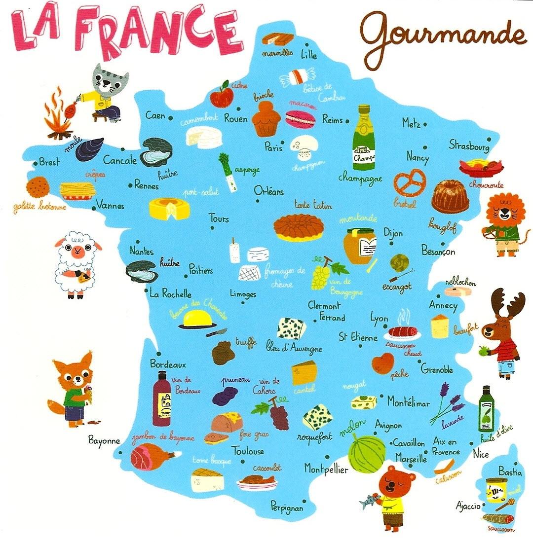 Quizz g ographie 1 la france quiz geographie france - Cuisine francaise par region ...