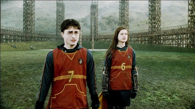 Dans quel film de la saga voit-on Ginny ainsi ?